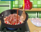 لعبة طبخ السلطة الحارة