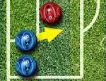 لعبة كرة قدم البلورات الملونة