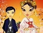 لعبة تلبيس العروسة اليابانية