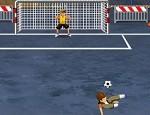 لعبة كرة قدم الشوارع