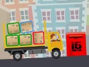 لعبة سيارة تحميل وتوزيع البضائع