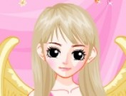 لعبة تلبيس الملاك الوردي