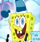 لعبة سبونج بوب مع الثلج