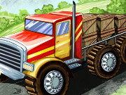 لعبة شاحنة النقل الجديدة