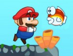 لعبة مغامرات ماريو في عالم البحار