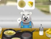 لعبة الدب الجائع
