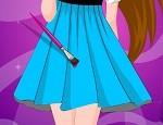 لعبة تلوين الفساتين الجميلة