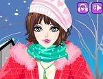 لعبة تلبيس الشتاء الثلجي