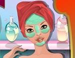 لعبة تنظيف و مكياج الوجه