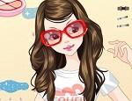 لعبة مكياج عاشقة النظارات