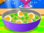 العاب طبخ البيض المسلوق