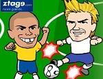 لعبة مصارعة لاعبين كرة قدم