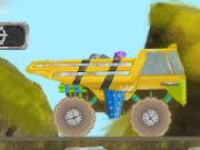 لعبة سيارة نقل الصخور 2