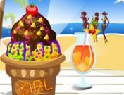 لعبة تزين ايسكريم الشاطئ