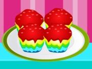 لعبة طبخ كعكة قوس قزح