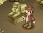 لعبة متاهة المعبد الفرعوني