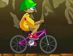 لعبة دراجات هوائية روعة