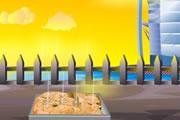 لعبة طبخ الخبز في الفرن