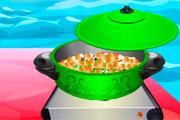 لعبة طبخ الحمص الهندي