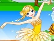 لعبة تلبيس راقصة الباليه الصغيرة