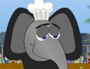 لعبة الفيل الطباخ