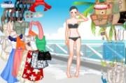 العاب تلبيس ملابس البحر