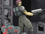 لعبة رجل الزومبي المحارب