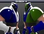 لعبة كرة قدم الروبوتات