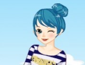لعبة تلبيس الفتاة المشاكسة