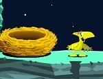 لعبة جمع بيض الديناصور