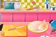 لعبة طبخ الديك الرومي في عيد الشكر