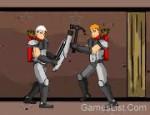 لعبة المقاتل الغامض