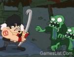 لعبة قتال الزومبي المخيفة جدا