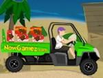 لعبة سيارة نقل صناديق الايسكريم