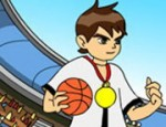 لعبة كرة سلة بن 10