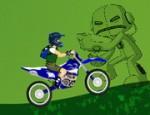 لعبة دراجات بن 10 النارية