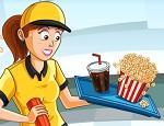 مطعم السينما السريع