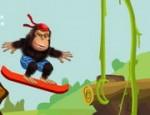 لعبة سكيت بورد القرد