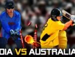 لعبة الكريكيت بين الهند و استراليا