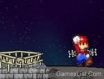 لعبة هبوط ماريو في الفضاء