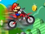 لعبة دراجة سوبر ماريو النارية