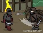 لعبة قتال النينجا بالسيوف