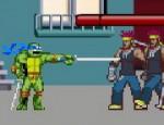 لعبة سلاحف النينجا المقاتلة