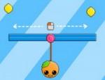 لعبة البرتقالة و الجاذبية