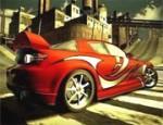 سباق السيارة الحمراء