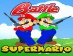 لعبة معركة سوبر ماريو