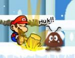 لعبة مغامرات ماريو في الثلج