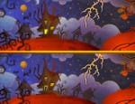 لعبة الفرق بين صور عيد الهالويين