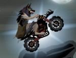 لعبة دراجة الذئب النارية
