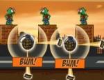 لعبة تفجير الزومبي بالقنابل